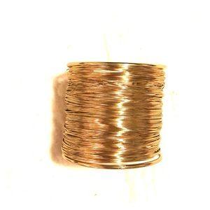 Gold Bangle Wrist Cuff